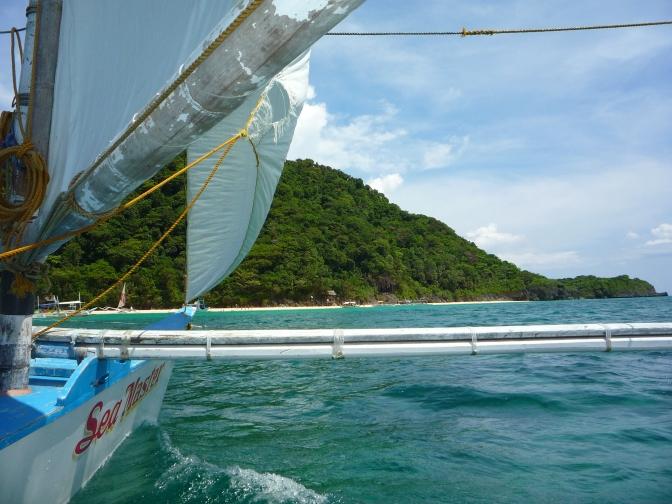 Sailing Around Boracay