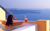 Santorini, Greece: The most perfect place on earth.