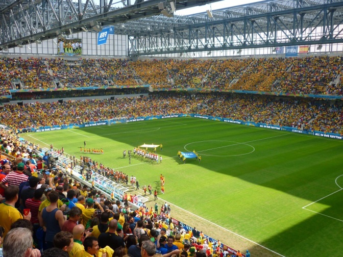World Cup In Curitiba: A Special Gift From FIFA & Visa!